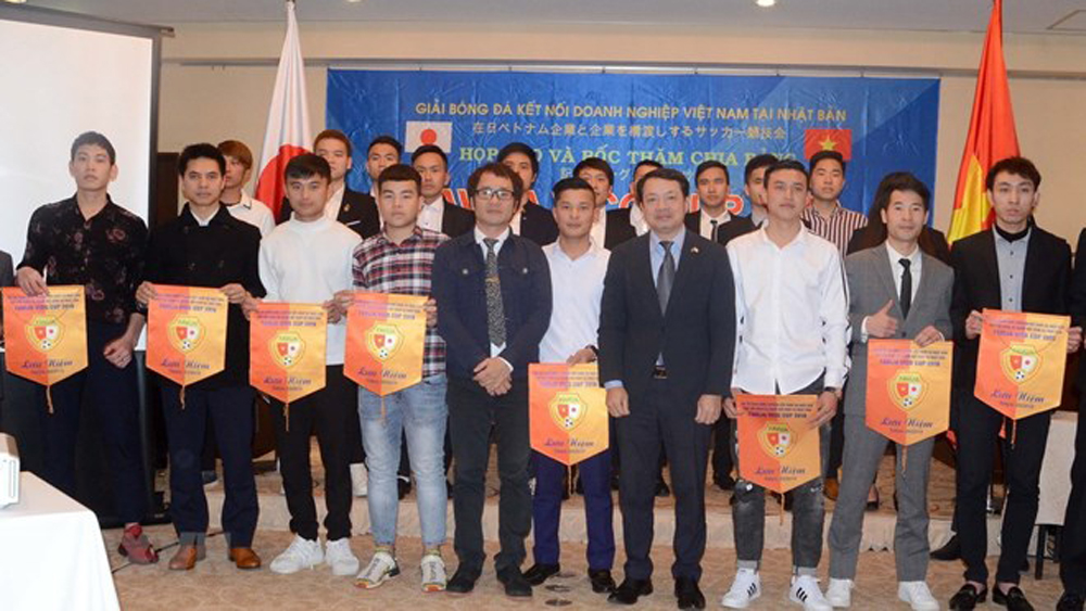 Vietnamese firms in Japan to compete in first football championship
