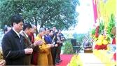 Lễ hội chùa Thiên Lai dưới chân núi Nham Biền