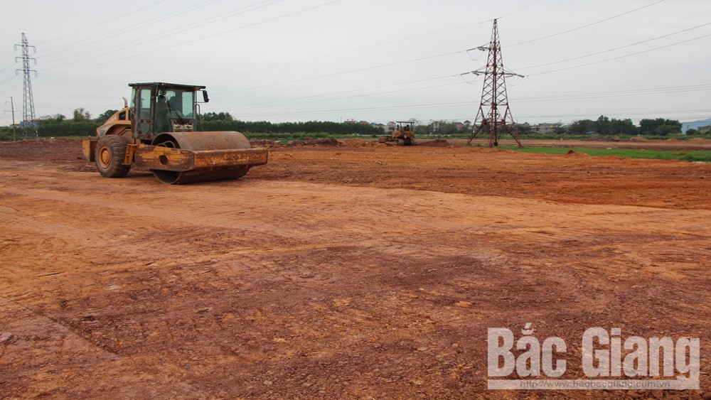 Bac Giang province, various sources, Bac Giang International Logistics Center, infrastructure and warehouse construction, project execution, total investment, project completion