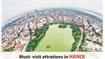 Must - visit attractions in Hanoi