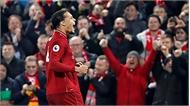 Van Dijk lập cú đúp trong chiến thắng của Liverpool