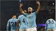 Man City thắng nhờ quả phạt đền của Aguero