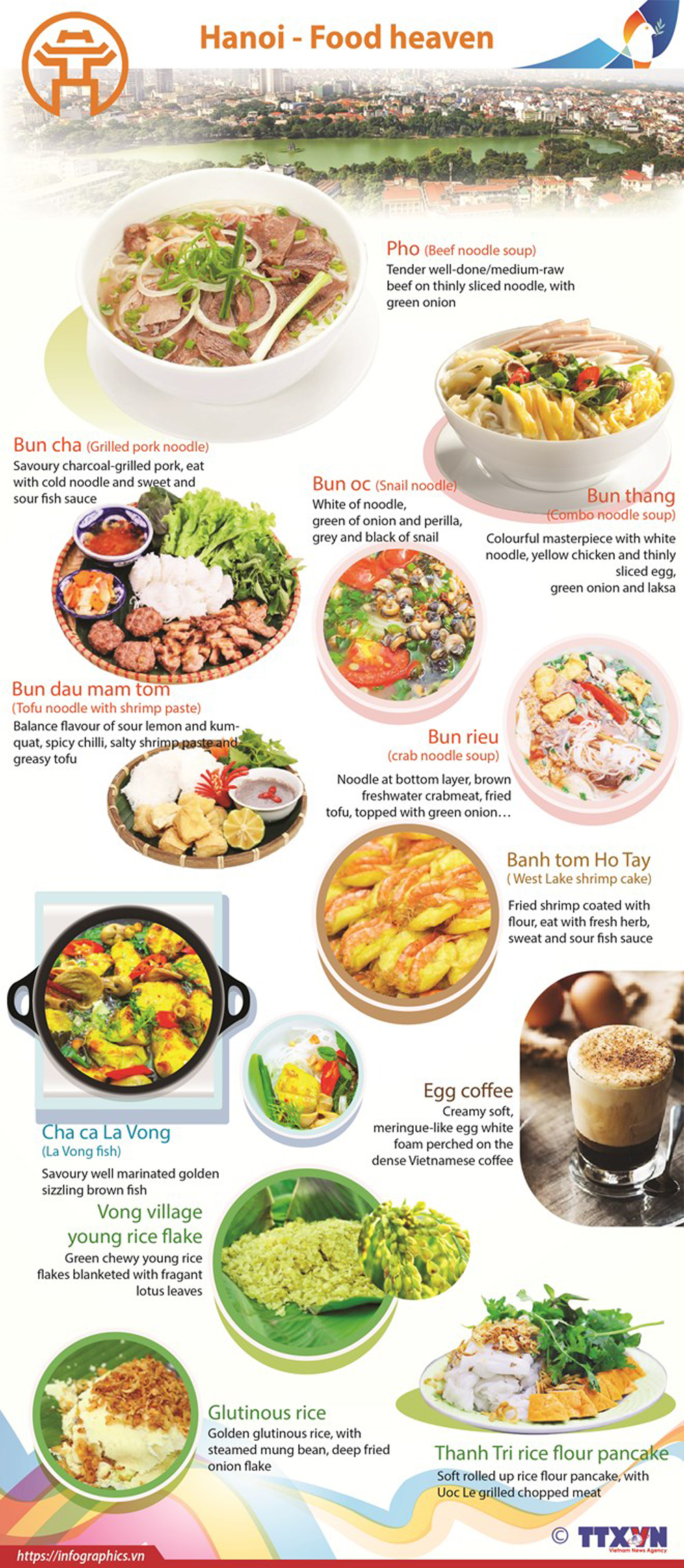 Hanoi, Food heaven, special dishes, culinary culture, diverse cuisine, local specialties