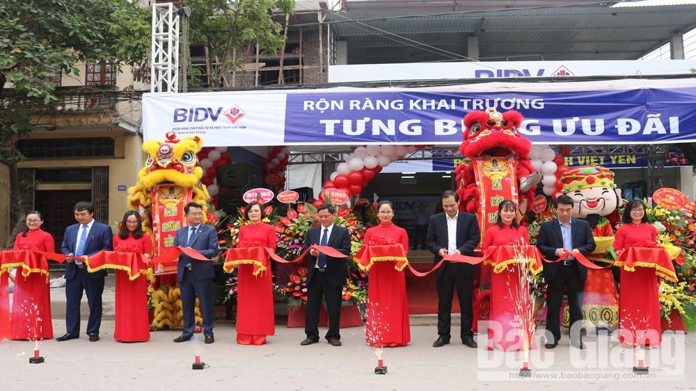 BIDV Chi nhánh Bắc Giang Khai trương Phòng Giao dịch Việt Yên