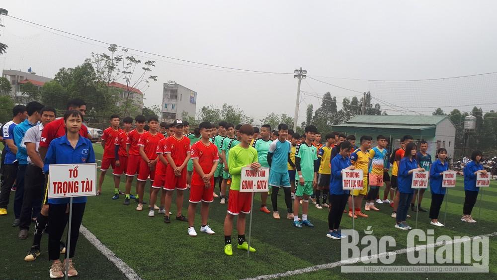 Giải bóng đá nam học sinh THPT lần thứ nhất