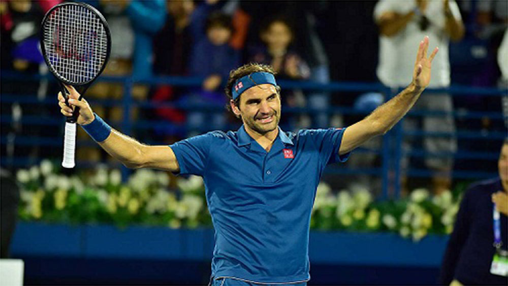 Federer đến gần danh hiệu Dubai Championships