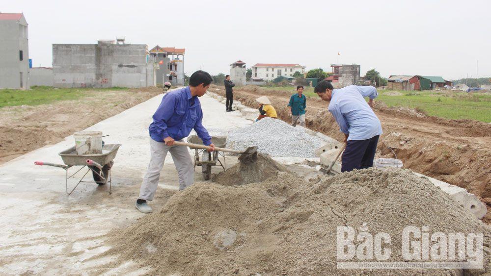 Việt Yên: Tháo gỡ vướng mắc trong giao đất dịch vụ