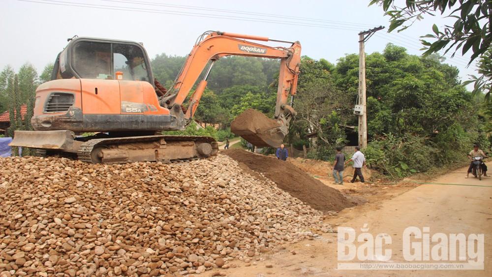 Huyện Sơn Động, Cứng hóa đường giao thông nông thôn, Nghị quyết số 07