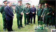 Bộ CHQS tỉnh ra quân huấn luyện năm 2019: Kết hợp huấn luyện, rèn luyện kỷ luật và xây dựng nền nếp chính quy
