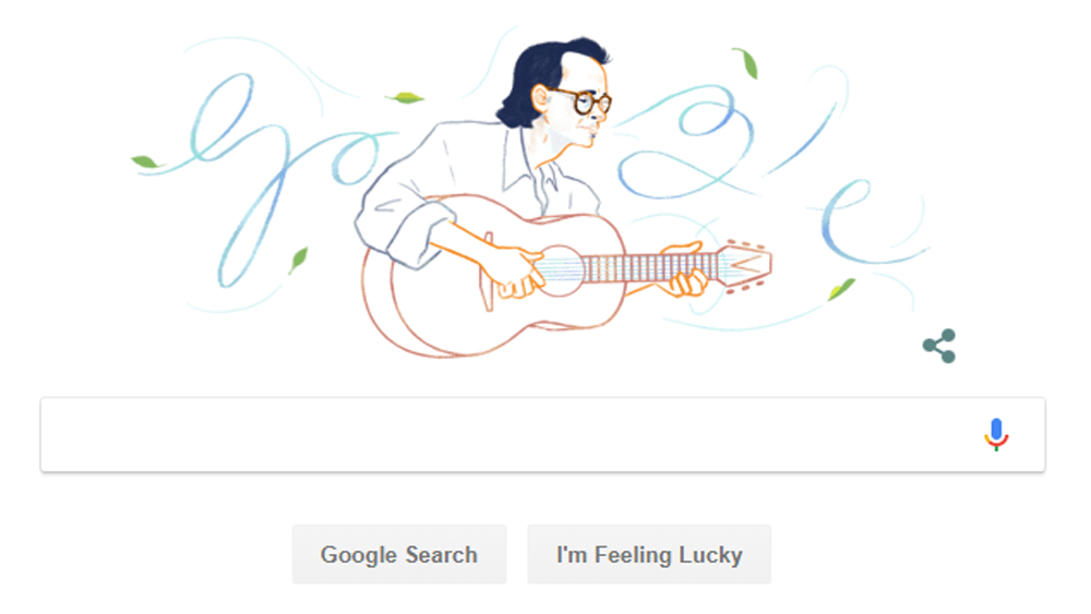 Google, pays tribute, Vietnamese musician, Trinh Cong Son, late musical genius, Trinh Cong Son, 80th birthday, love and romance
