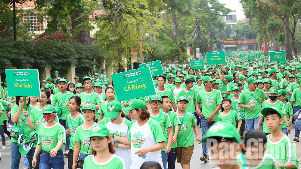 Giải Việt dã truyền thống tranh cúp Báo Bắc Giang, việt dã Báo bắc Giang, Nestle Việt Nam