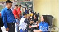 Đoàn viên thanh niên các cơ quan tỉnh Bắc Giang hiến 174 đơn vị máu