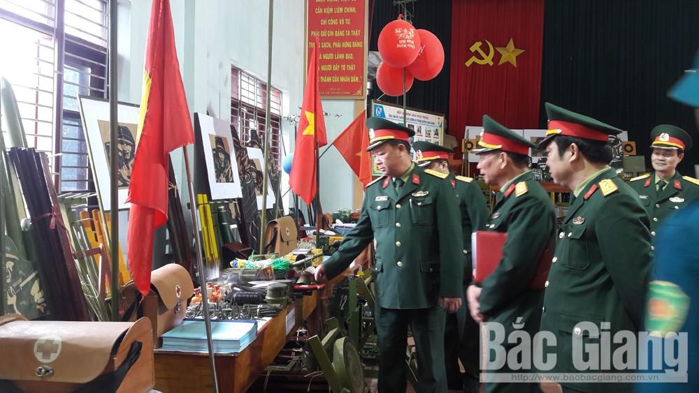 Ban CHQS huyện Lạng Giang ra quân huấn luyện năm 2019