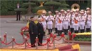 Lễ đón Chủ tịch Triều Tiên Kim Jong-un