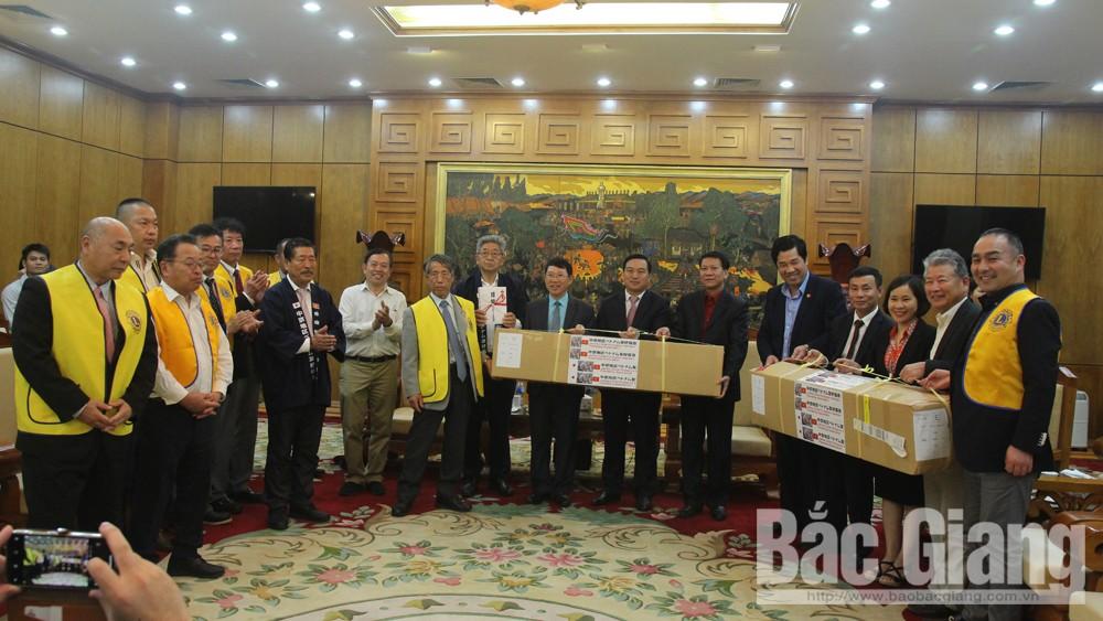 Bắc Giang, Nhật Bản, Hoa anh đào, Hội hữu nghị Nhật- Việt