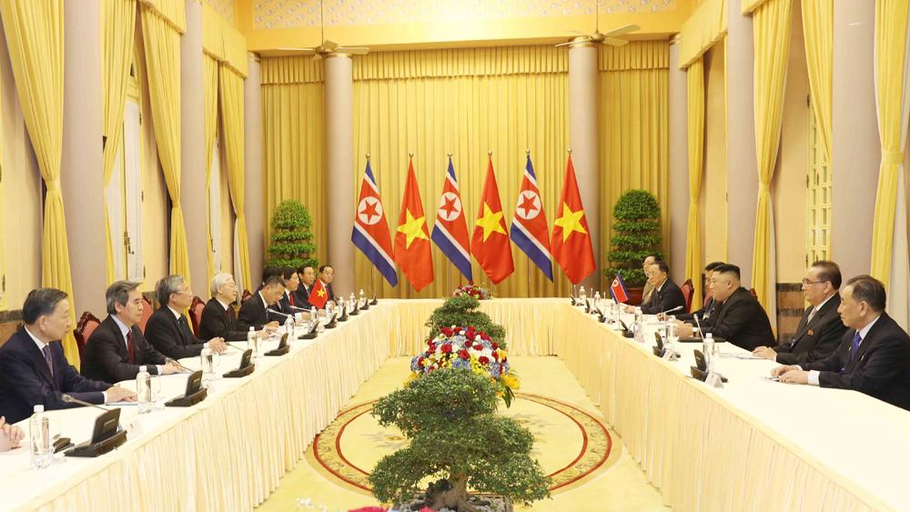 Đồng chí Chủ tịch Kim Jong-un: Triều Tiên coi trọng và mong muốn tiếp tục củng cố quan hệ hữu nghị truyền thống với Việt Nam