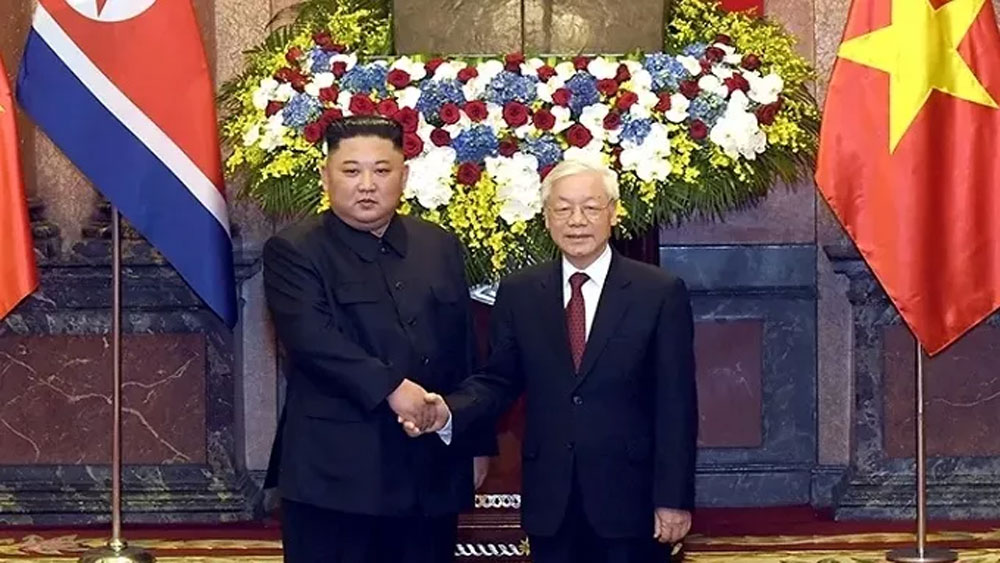 Top leader hails DPRK Chairman's visit