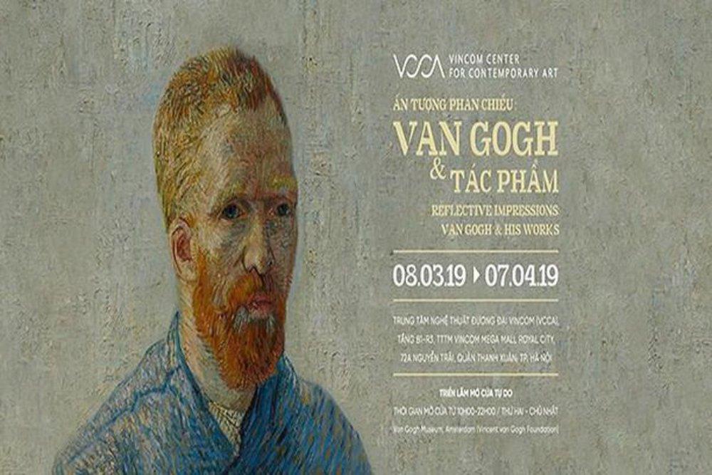Vincent Van Gogh, phản chiếu, triển lãm, ấn tượng