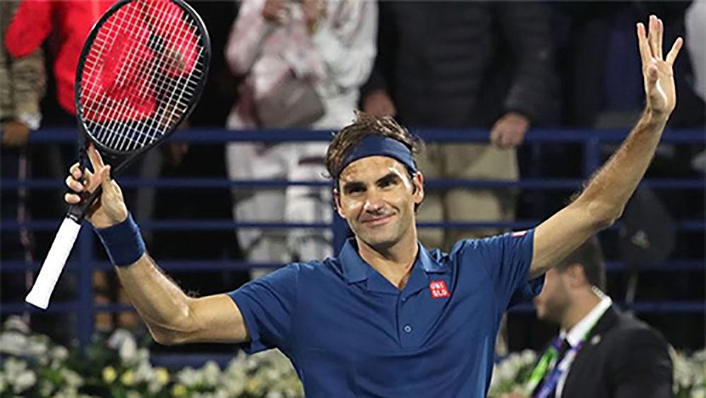 Federer tái ngộ Tsitsipas tại chung kết Dubai Championships