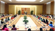 Thủ tướng gặp mặt đại biểu nữ doanh nhân Việt Nam