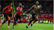 Lukaku đưa Man Utd trở lại top 4 Ngoại hạng Anh