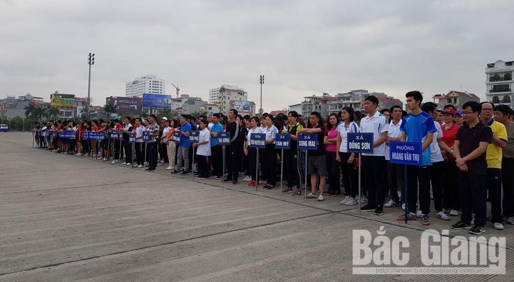 Ngày chạy Olympic vì sức khỏe toàn dân, Việt dã TP Bắc Giang, ngày chạy, TP Bắc Giang, Bắc Giang