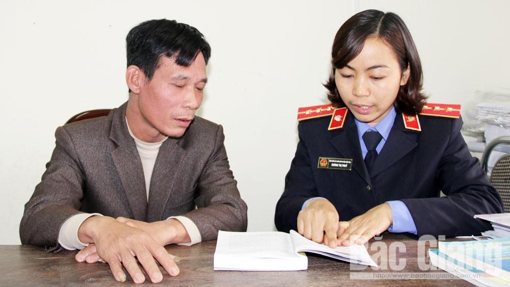 Bắc Giang, thi hành án hình sự, kiểm sát, Viện KSND, tòa án