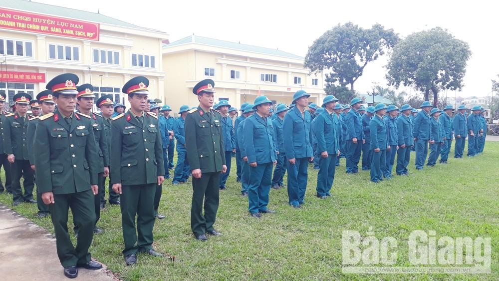 Ra quân huấn luyện năm 2019