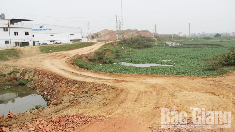 Bắc Giang, xã Mai Trung, huyện Hiệp Hòa, dồn đổi ruộng, khai thác đất trái phép