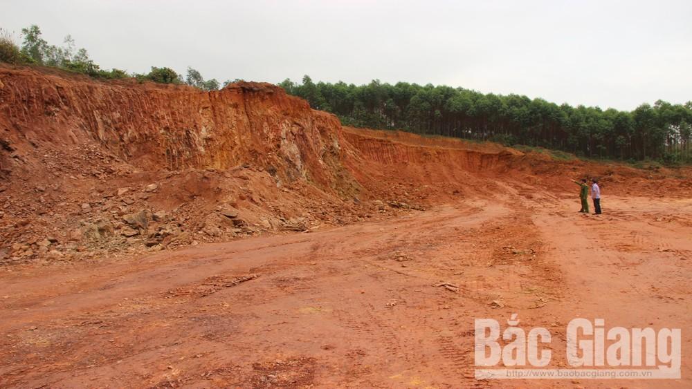 Tái diễn, tình trạng, khai thác, đất trái phép, dọc cao tốc Bắc Giang-Lạng Sơn