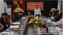 Huyện ủy Tân Yên: Tọa đàm tổng kết thực tiễn, nghiên cứu lý luận về công tác xây dựng Đảng