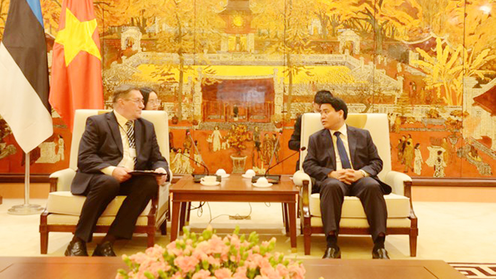 Hanoi wishes to cooperate with Estonia in smart city building