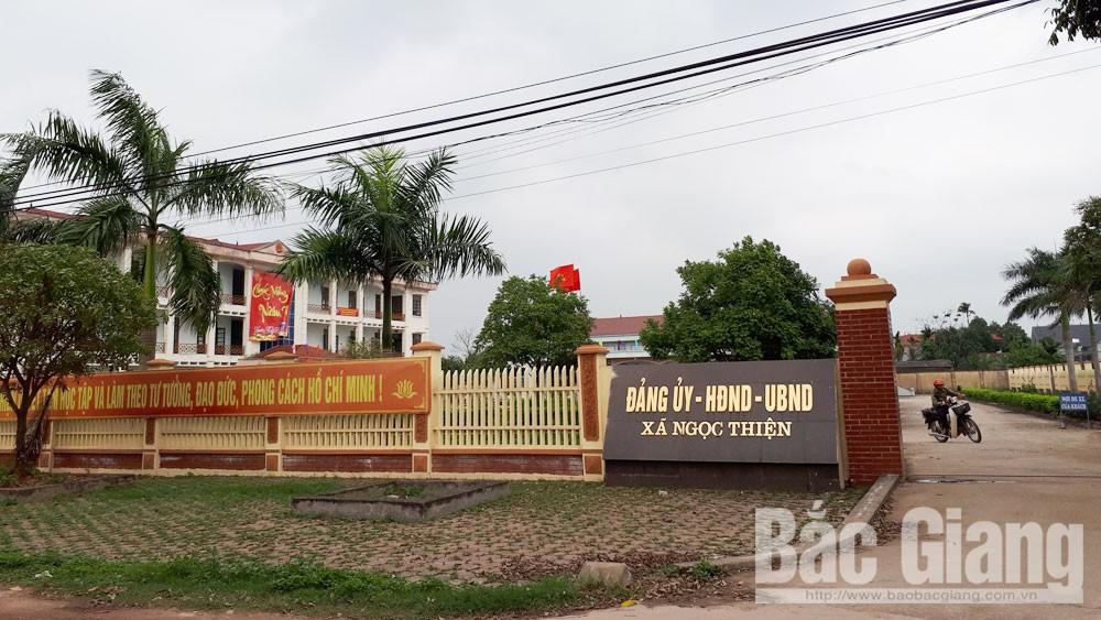 xã Ngọc Thiện, huyện Tân Yên, Bắc Giang, Nguyễn Văn Hưởng, Chủ tịch Hội Cựu chiến binh, bằng cấp giả
