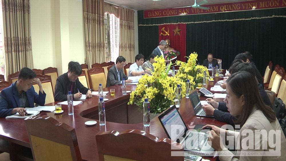 Chủ tịch UBND tỉnh, làm việc tại Yên Dũng, dự án đầu tư, hình thức BT