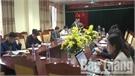 Chủ tịch UBND tỉnh Nguyễn Văn Linh làm việc với UBND huyện Yên Dũng về việc triển khai các dự án BT