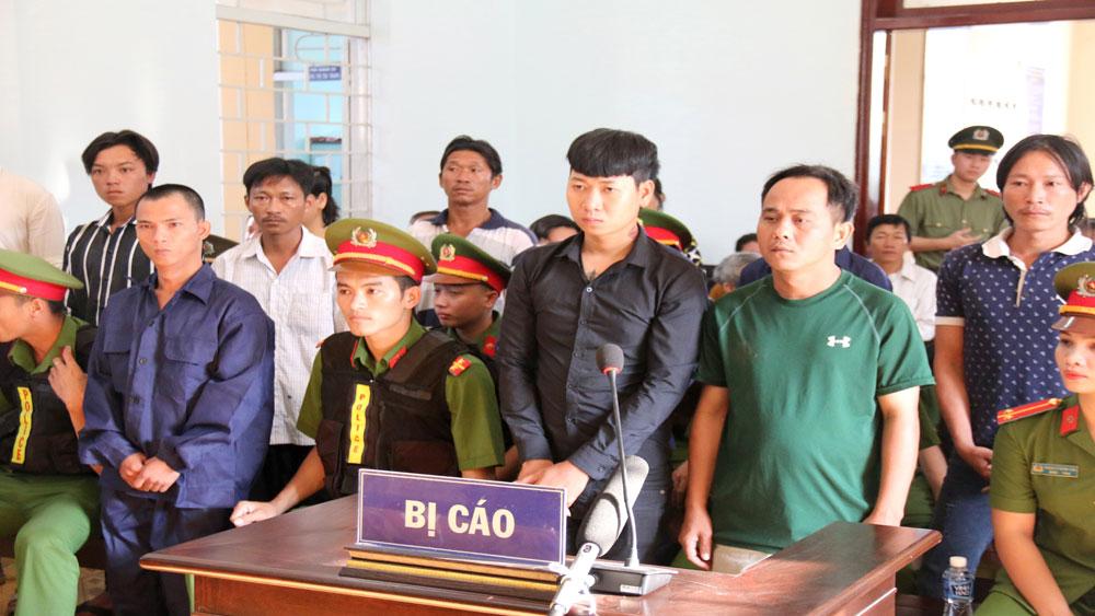 Xét xử, vụ án gây rối trật tự công cộng, Tuy Phong, Bình Thuận
