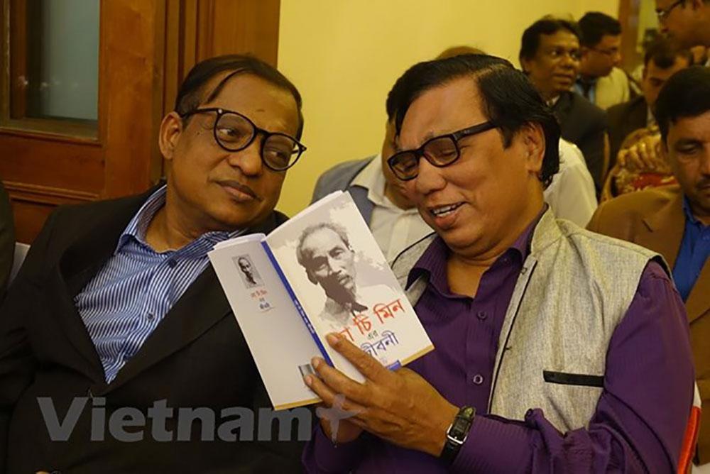 Lễ ra mắt cuốn sách, Tiểu sử Hồ Chí Minh, Bengal, Bangladesh
