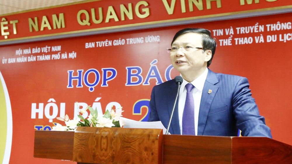 Hội Báo toàn quốc 2019, diễn ra từ ngày 15 đến 17-3, Hồ Quang Lợi,