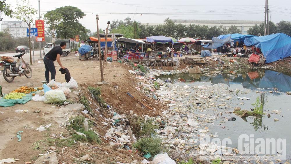 Bắc Giang, Tỉnh ủy,  UBND tỉnh Bắc Giang, ô nhiễm môi trường,  rác thải, bãi rác tự phát