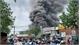 Cháy lớn ở cửa ngõ TP Hồ Chí Minh, khói đen bốc cao hàng trăm mét