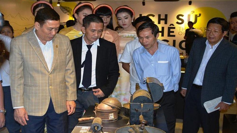 Khai mạc, triển lãm, lịch sử cà phê thế giới