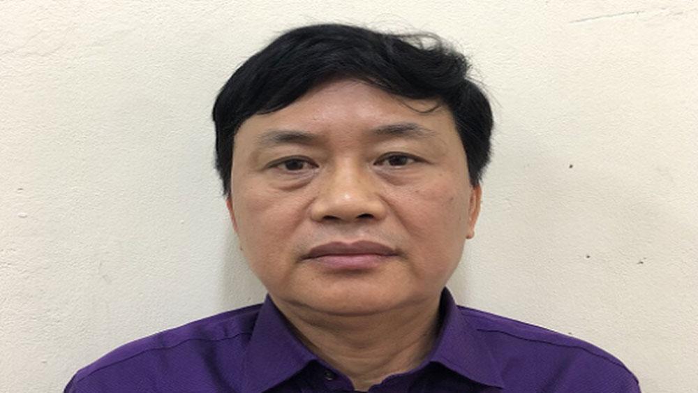 Bắt tạm giam nguyên Phó Cục trưởng Cục Đường thủy nội địa Việt Nam