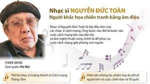 Nhạc sĩ Nguyễn Đức Toàn - người khắc họa chiến tranh bằng âm điệu