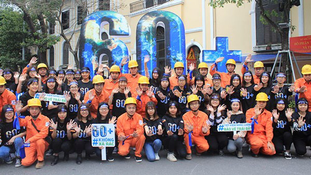 Earth Hour campaign kicks off in Hanoi