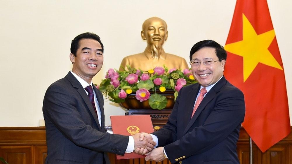 Ông Tô Anh Dũng được bổ nhiệm Thứ trưởng Bộ Ngoại giao