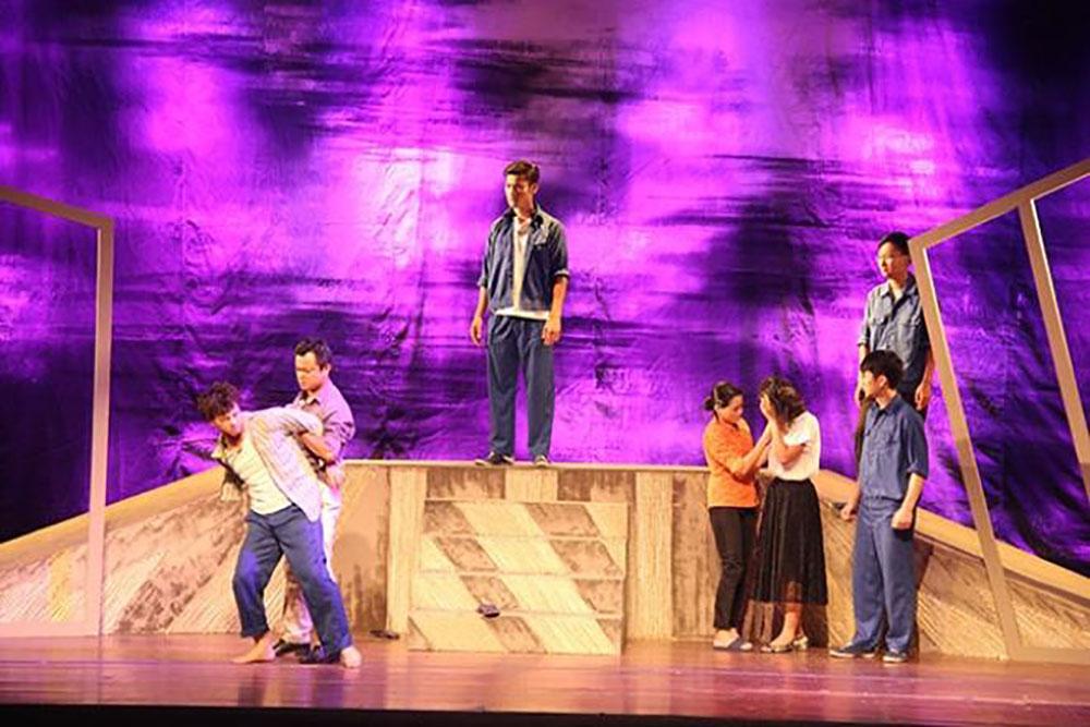 Nhà hát kịch Việt Nam, Nghêu - Sò - Ốc - Hến, lưu diễn Châu Âu