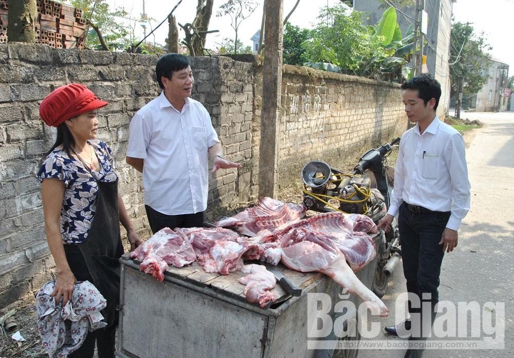 Việt Yên, tích cực, phòng, chống,  bệnh dịch tả lợn châu Phi
