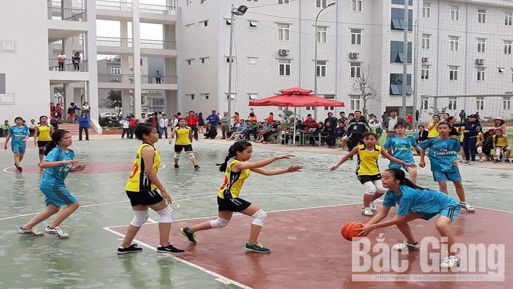 giáo dục thể chất, nhà trường, Bắc Giang, trường học, bóng rổ, bóng bàn, cầu lông, thể dục, thể thao