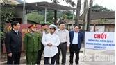 Sơn Động: Kiểm soát chặt chẽ phương tiện vận chuyển lợn, sản phẩm từ lợn