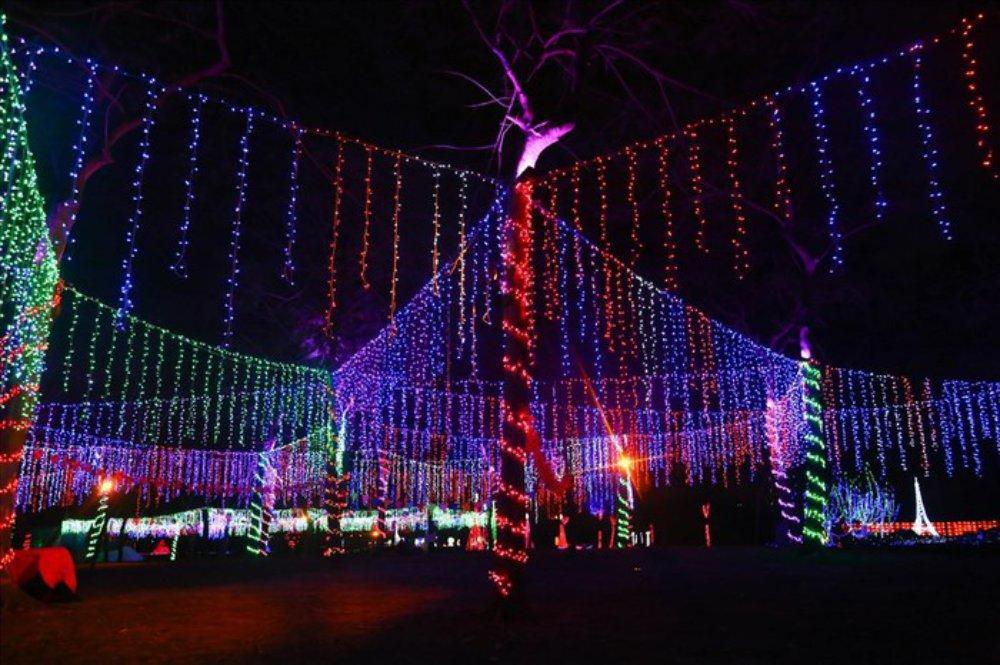 Khu vườn ánh sáng, Hà Nội, công viên Yên Sở, đèn LED